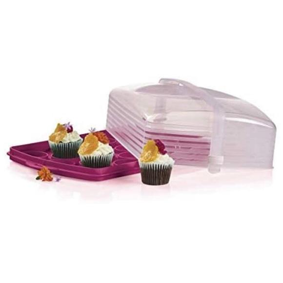 Tupperware cake taker nip